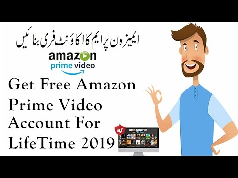 How To Get Free Amazon Prime Video Lifetime Account For Android/Pc Unlimited  2019