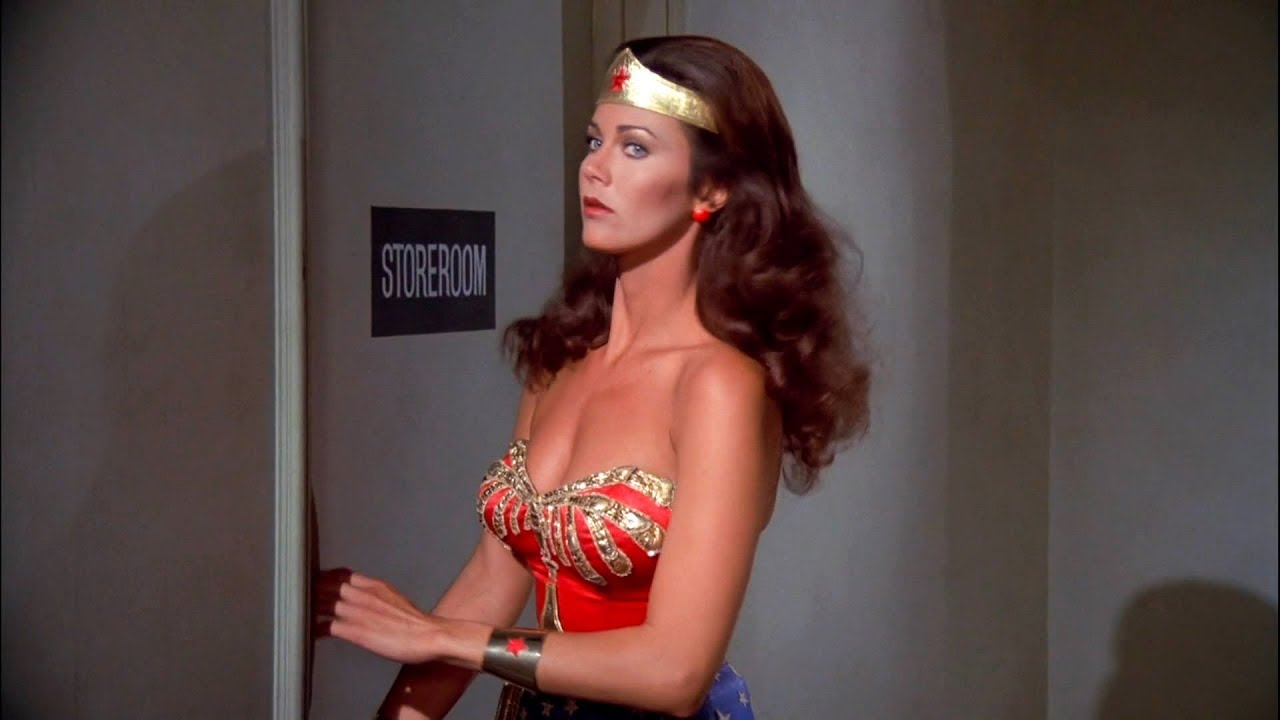 Wonder Woman Lynda Carter Beats Up The Bad Guys  Shows Her Bust In Hd - Youtube-5477