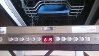 Bosch Dishwasher E15