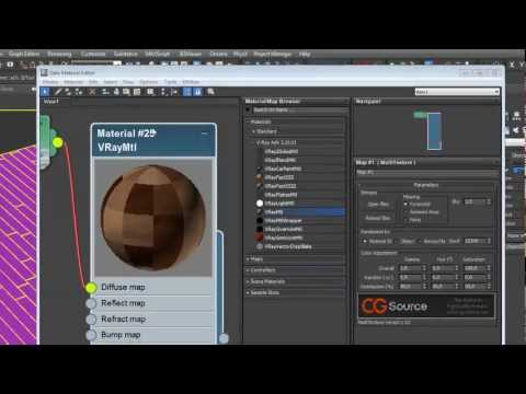 Tutorial Floor Generator - Multi Texture Map - Genetica ...