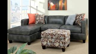 Appealing Gray Sectional Sofa With Chaise