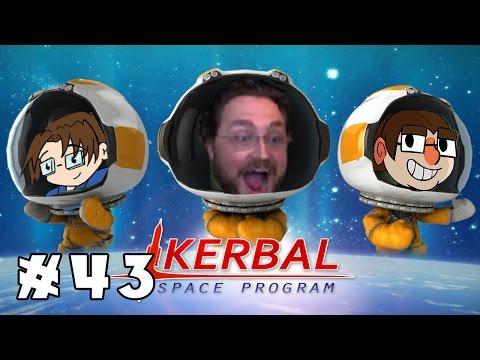 COOL PEOPLE DON'T NEED PARACHUTES | Kerbal Space Program: Career Mode | Ep. 43