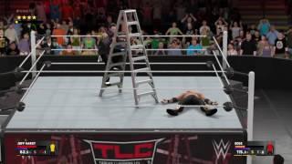 WWE 2K17 Jeff Hardy Twist of Fate & Swanton TLC