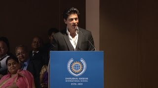 Shah Rukh Khan's Speech at DAIS GC2016, with Nita Ambani