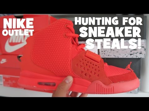 Nike Factory Outlet Searching For Sneaker Deals Steals