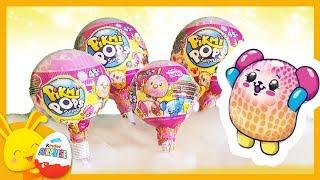 oeufs et sucettes de jouets surprises - Pikmi Pops - Titounis Touni Toys streaming