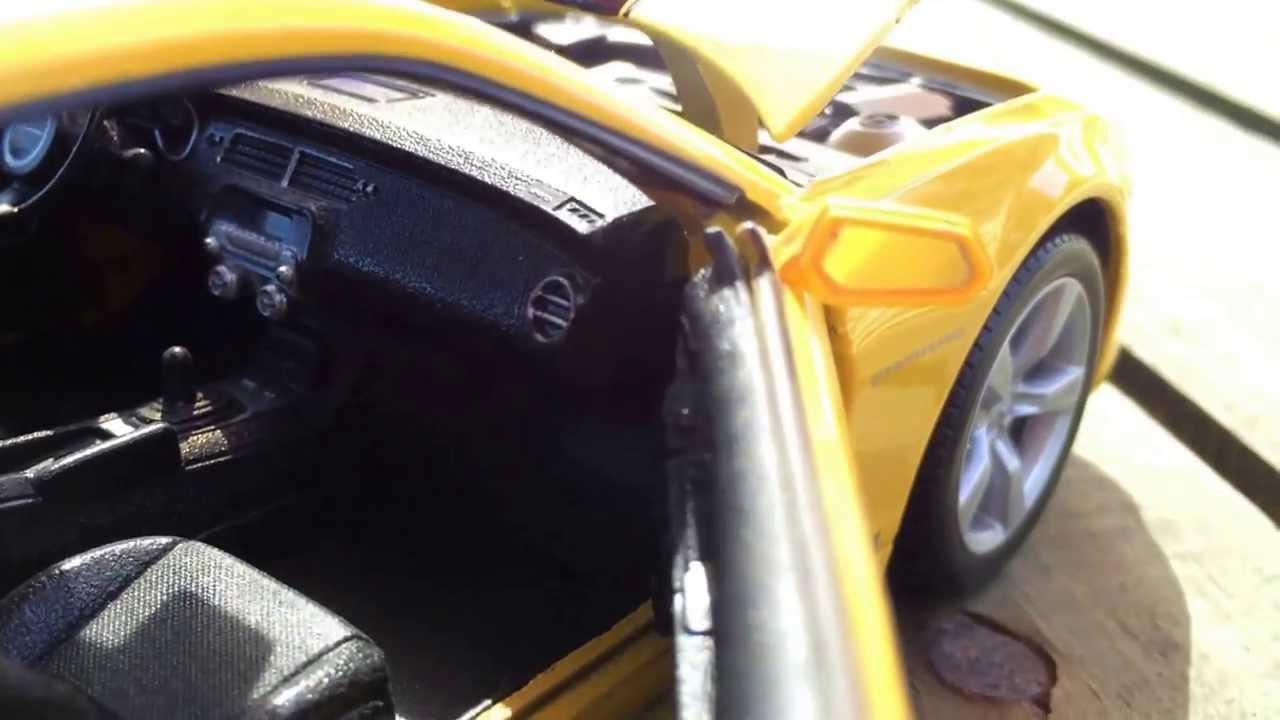 Chevrolet Camaro SS RS amarillo//negro 2010 1:24 maisto />/> New /</<