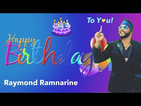 Raymond Ramnarine - Happy Birthday To You (Baar Baar Din Yeh Aaye)
