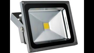 видео светодиодный прожектор купить