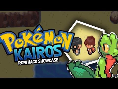 Pokemon ROM HACK SHOWCASE - Pokemon Kairos ( FireRed Rom Hack )