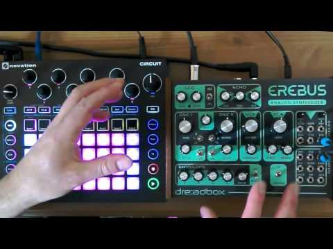 Novation Circuit and Dreadbox Erebus working together explainer video