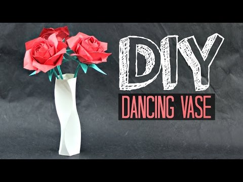 How to make a paper Vase (Dancing Vase, by Tadashi Mori)