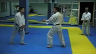 Técnica de esquiva (kawashi) Karate Do Shotokai José Cáceres