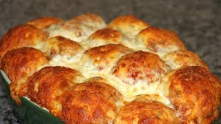 Чудо-хлеб! Пицца хлеб!Неимоверная вкуснятина! Сделайте, Не пожалеете!