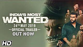 India's Most Wanted Trailer | Arjun Kapoor | Raj Kumar Gupta | India's Most Wanted Movie Trailer