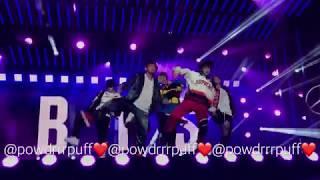 FANCAM - BTS - Fire - Jimmy Kimmel Mini Concert - 171115