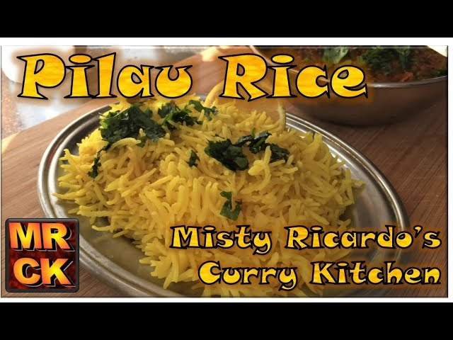 How to make Pilau Rice (Indian Restaurant Style)