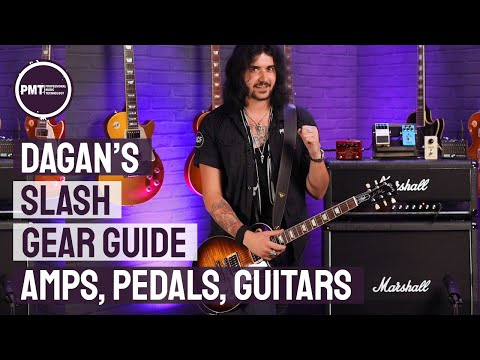 Slash Gear Guide – How To Sound Like Slash & Guns N' Roses Using His Amps, Guitars & Effects