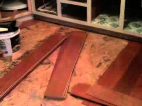 Bruce Engineered Hardwood Flooring Installed