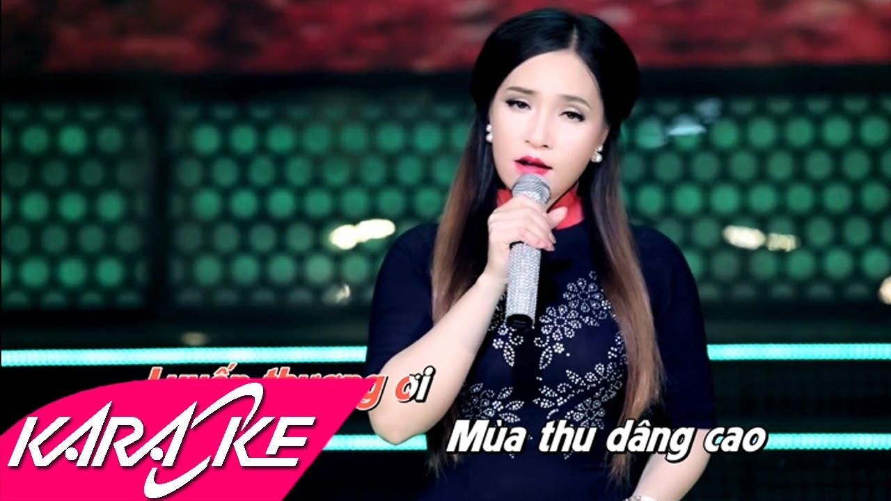 Vùng Lá Me Bay Karaoke - Đào Anh Thư | Bolero Nhạc Vàng Karaoke Beat