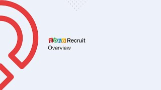 Zoho Recruit - An Applicant tracking system Overview. Learn how to setup your ATS now!