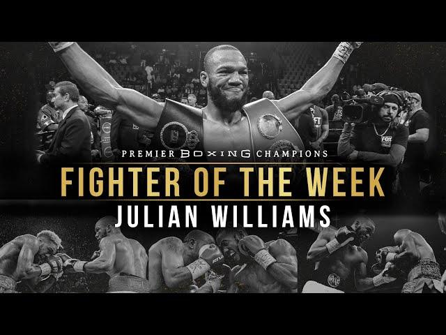 Fighter Of The Week: Julian Williams