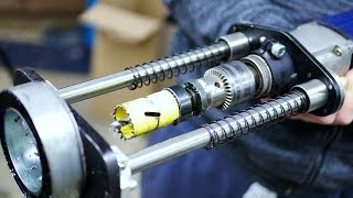Mobile (ELECTROMAGNETIC) Drill Stand