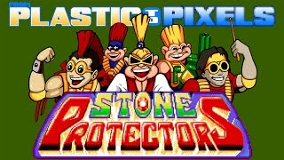 From Plastic to Pixels - Stone Protectors (SNES)