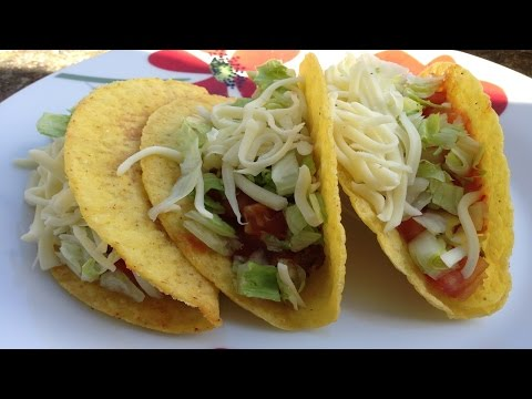 How To Make Tacos - Beef Tacos Recipe From Old El Paso