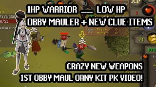 The first OSRS Ornamental Obby Mauler PK Video