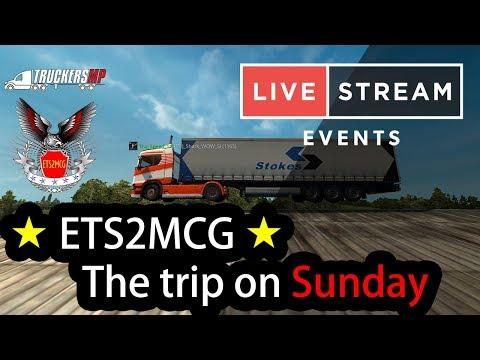 【 LIVE 】Euro Truck Simulator 2 - ETS2MCG Team l Dover - Newcastle [8/4/2018]