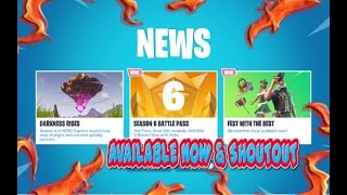 FORTNITE NEW LUDWIG & HEIDI SKIN & AXCORDION PICKAXE & OKTOBERFREST GLIDER AVAILABLE NOW & SHOUTOUT