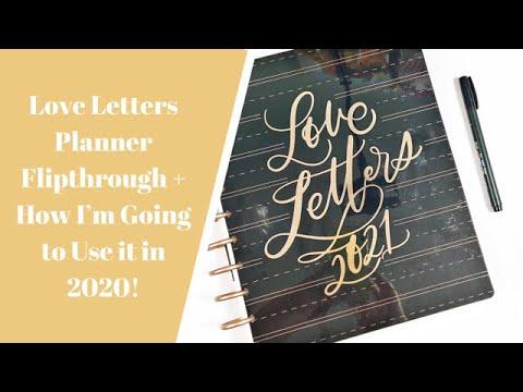 Love Letters Planner Flipthrough + How I Plan On Using It