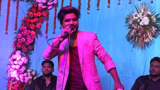 Salman Ali singing his favourites at an event