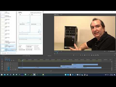 Premiere Pro GPU acceleration and GPU encoding and decoding vs Quick Sync