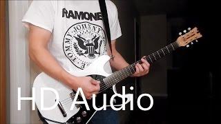 Ramones – Ramona (Guitar Cover), Barre Chords, Downstroking, Johnny Ramone
