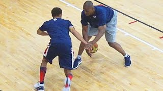Steph Curry SHOWS Out At USA Practice With KD, LeBron, Westbrook, Etc!