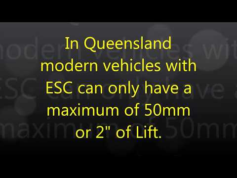 Suspension Lift and tyres on your 4wd. Is it Legal in Queensland in 2018?