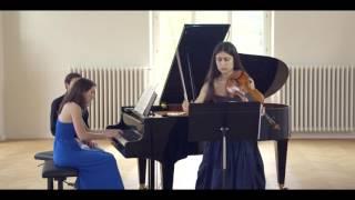 Duo Primavera Franck sonata Allegro