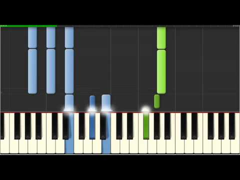 greensleeves - Piano - Beginner Piano - Slow and Easy - Learn to Play