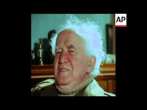 SYND 8-2-70 BEN GURION INTERVIEW