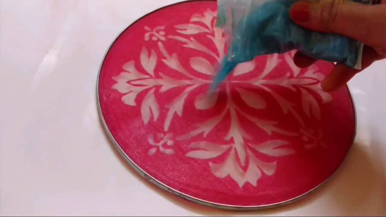 How To Make Stencil Rangoli | Stencil Rangoli Designs | CraftLas