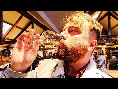 Trying Scotland's Water Of Life 🥃🏴󠁧󠁢󠁳󠁣󠁴󠁿