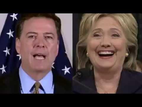 Clinton-Comey FBI Rap - Presidential Campaign Clinton-Trump 2016