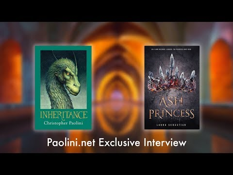 Christopher Paolini Interviews Author Laura Sebastian