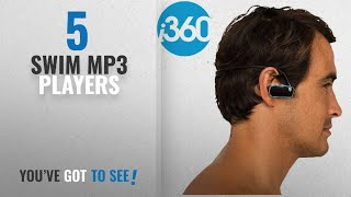 Top 10 Swim Mp3 Players [2018]: i360 Waterproof Swimming MP3 Player with Built in Headphones