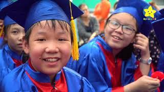 Lễ tri ân và trưởng thành học sinh lớp 5 - Trường tiểu học Kết Đoàn Quận 1 | Ngôi Sao Nhỏ TV