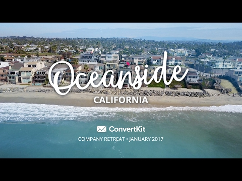 ConvertKit Company Retreat in Oceanside, California