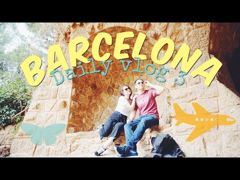 Best views: Park Guell & Cable Car 😍 - Travel Diary Barcelona Daily Vlog | Part 3