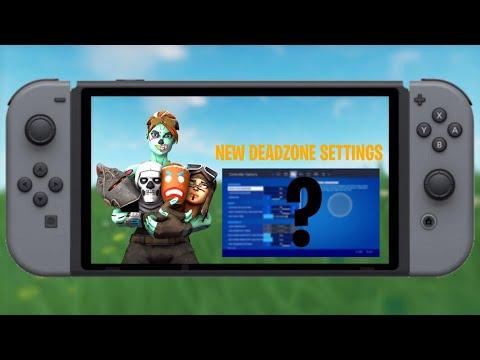 Best Chapter 2 Settings For Fortnite Nintendo Switch ! (NEW) (FIXES DRIFT)
